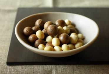 Macadamias haben einen hohen Fettanteil. Und das ist gut so!