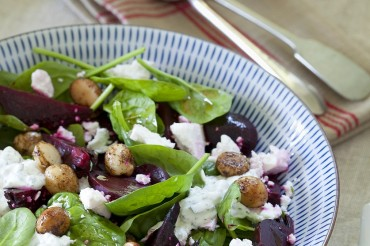 Rote-Bete-Macadamia-Salat
