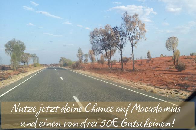 Erinnerungen an meine Zeit in Australien: Nutze jetzt deine Chance auf Macadamias und einen von drei 50€ Gutscheinen!