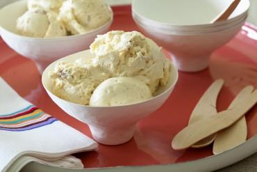 Sahniges Macadamia-Honig-Eis