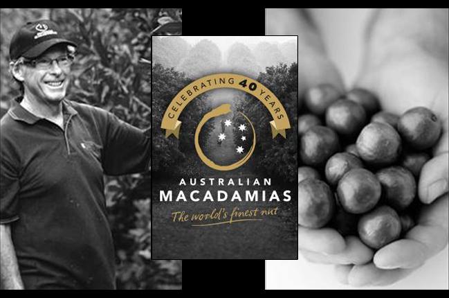 Ein Hoch auf 40 Jahre australische Macadamia