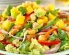 Orangen-Chili-Enten-Salat mit Macadamias