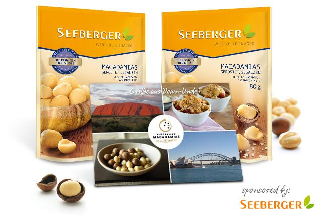 Gewinnerbekanntgabe: Seeberger-Snack-Packs