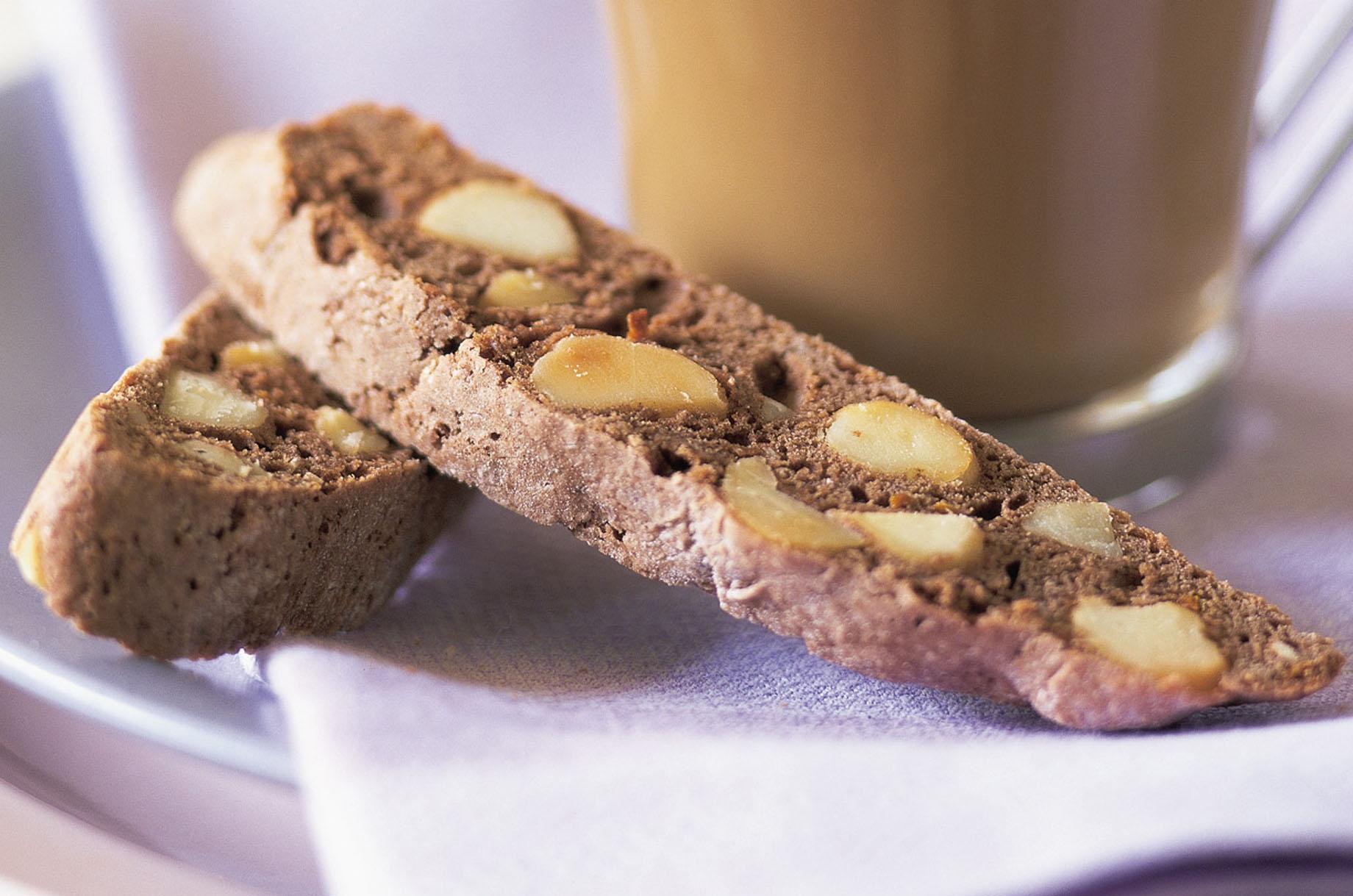 Schokoladen Biscottis mit Australischen Macadamias