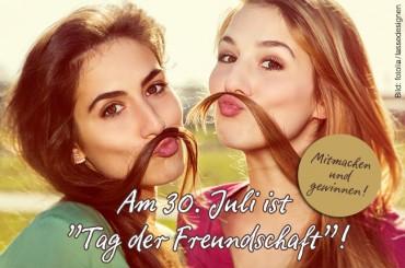 Freunde fürs Leben – Gewinnspiel zum Tag der Freundschaft!