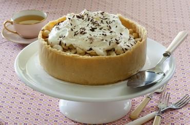 Macadamia Banoffee Pie