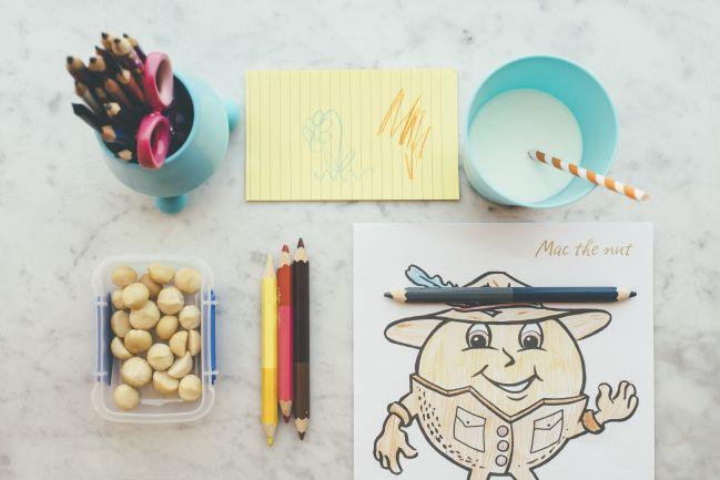 Back to school: Macadamia Nüsse sind der ideale Snack für Schulkinder