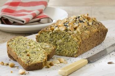 Brot mal anders: Macadamia-Mais-Brot