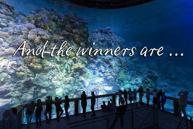 Gewinnerbekanntgabe: Great Barrier Reef – Wunderwelt Korallenriff