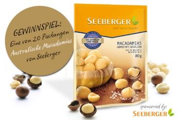 Finde den Fehler und gewinne Australische Macadamias von Seeberger!