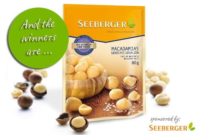 Gewinnerbekanntgabe:  Finde den Fehler und gewinne Australische Macadamias von Seeberger