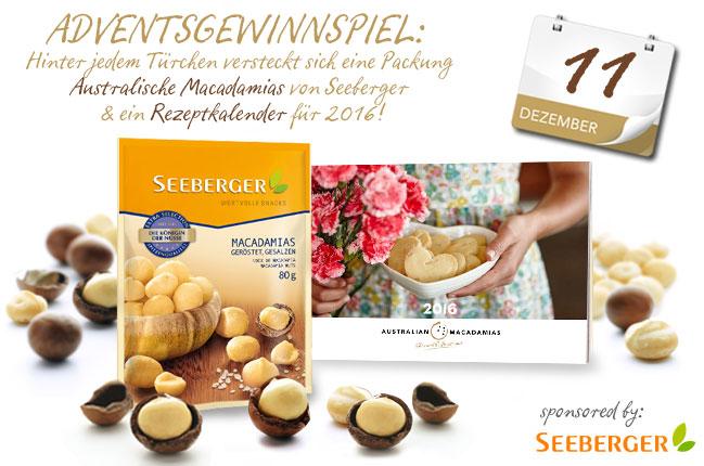 Australian Macadamias Adventskalender –  Knackt die Frage des Tages und gewinnt ein Australian Macadamias Genuss-Set!
