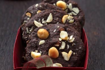 Schokoladen Macadamia Cookies