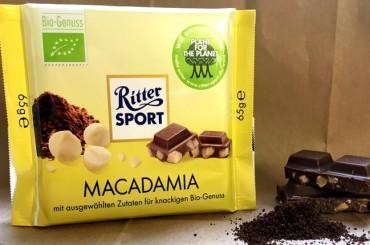 Ritter Sport Macadamia: Die Nuss in bester Gesellschaft