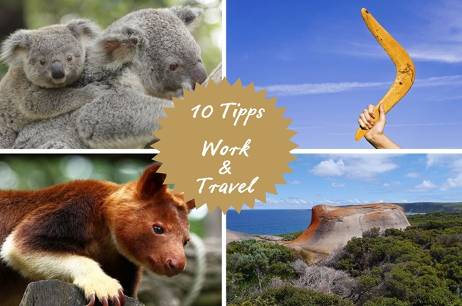 10 Tipps für Work and Travel in Australien