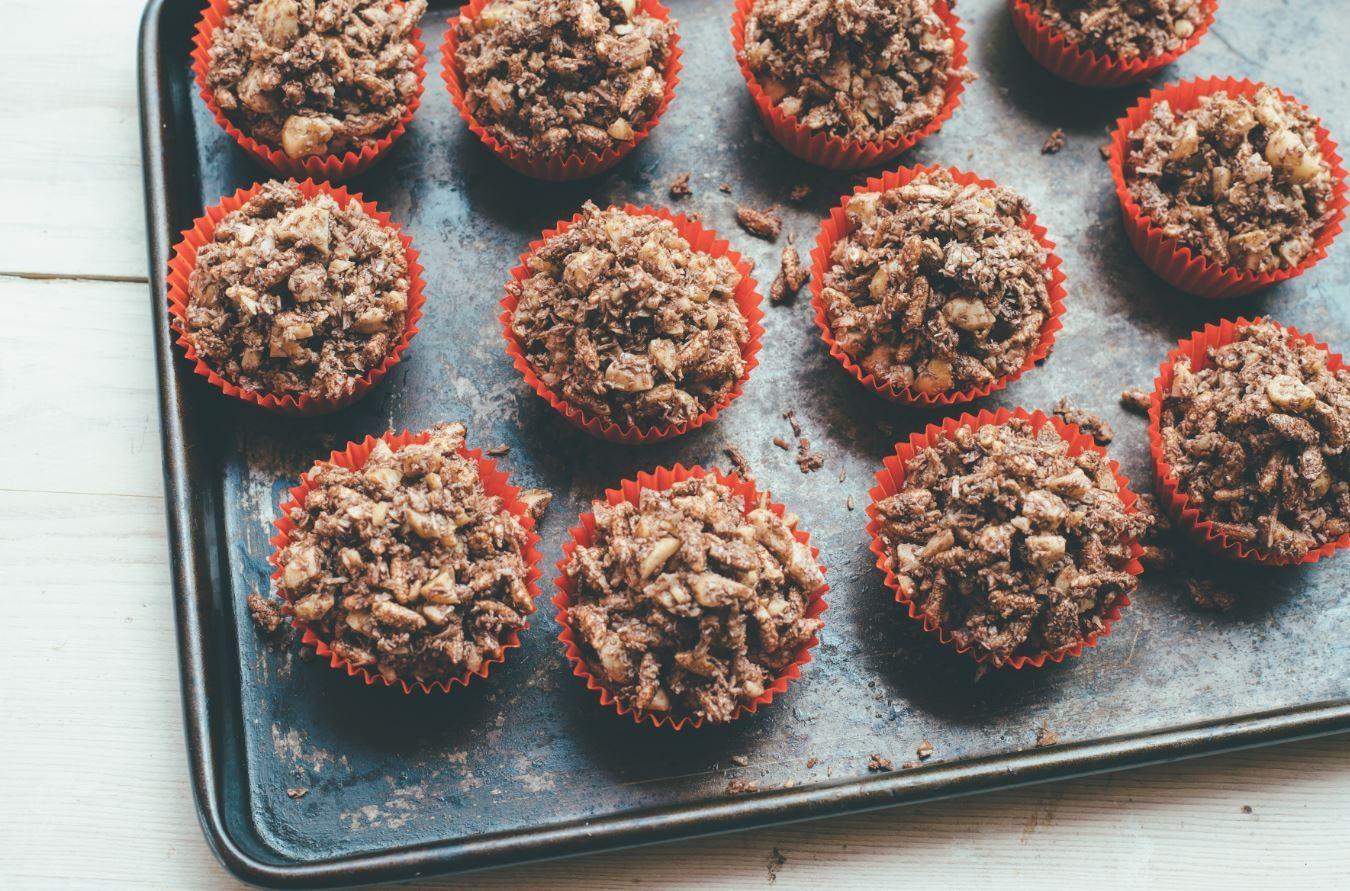 Macadamia-Schokoladen Crackles