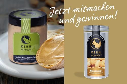 Nikolaus-Gewinnspiel: Macadamia Creme von KERNenergie
