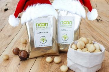 Deal mit dem Weihnachtsmann: NOAN-Macadamias mit exklusivem Rabatt