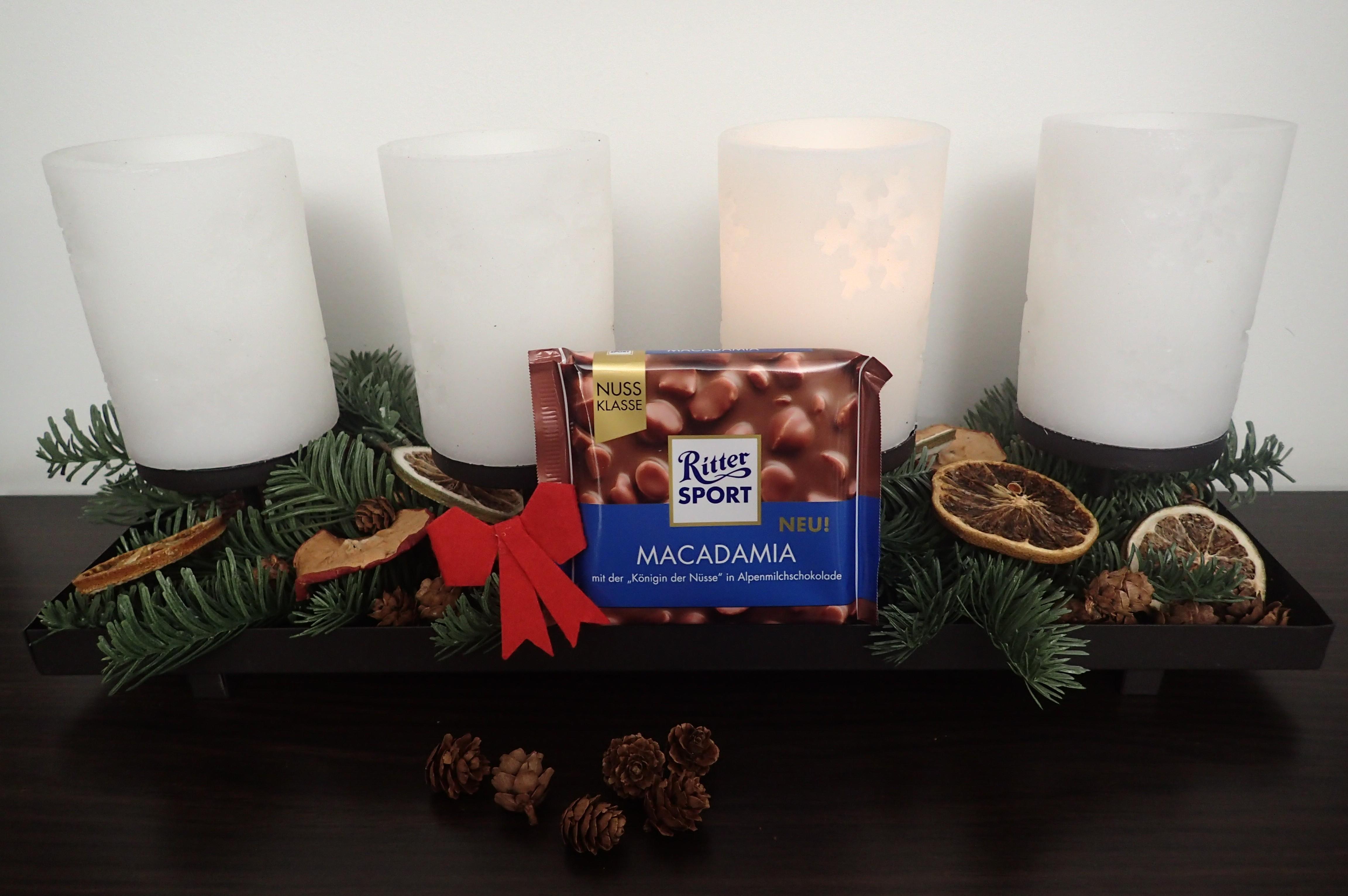 """Die neue Ritter SPORT Macadamia: Die """"Königin der Nüsse"""" in Alpenmilchschokolade"""