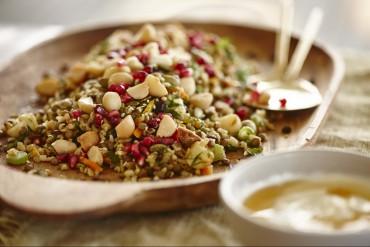 Macadamia-Freekeh Salat