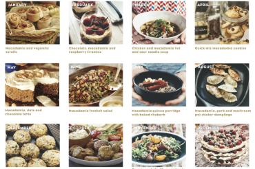 Glücks-Gewinnspiel am Freitag, den 13ten: Australian Macadamia Society Rezeptkalender