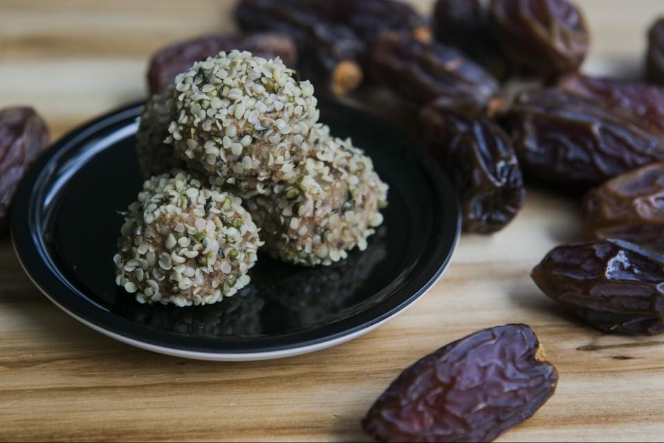 Vegane Energie Kugeln von Nathalie's Cuisine