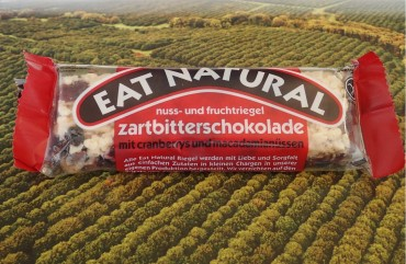 Produkttest: Macadamiariegel von Eat Natural