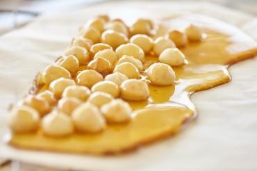 Gebrannte Macadamia-Nüsse