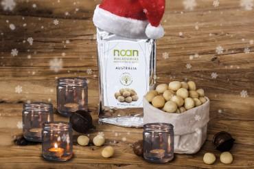 Adventsgewinnspiel: Knackige Macadamias von NOAN