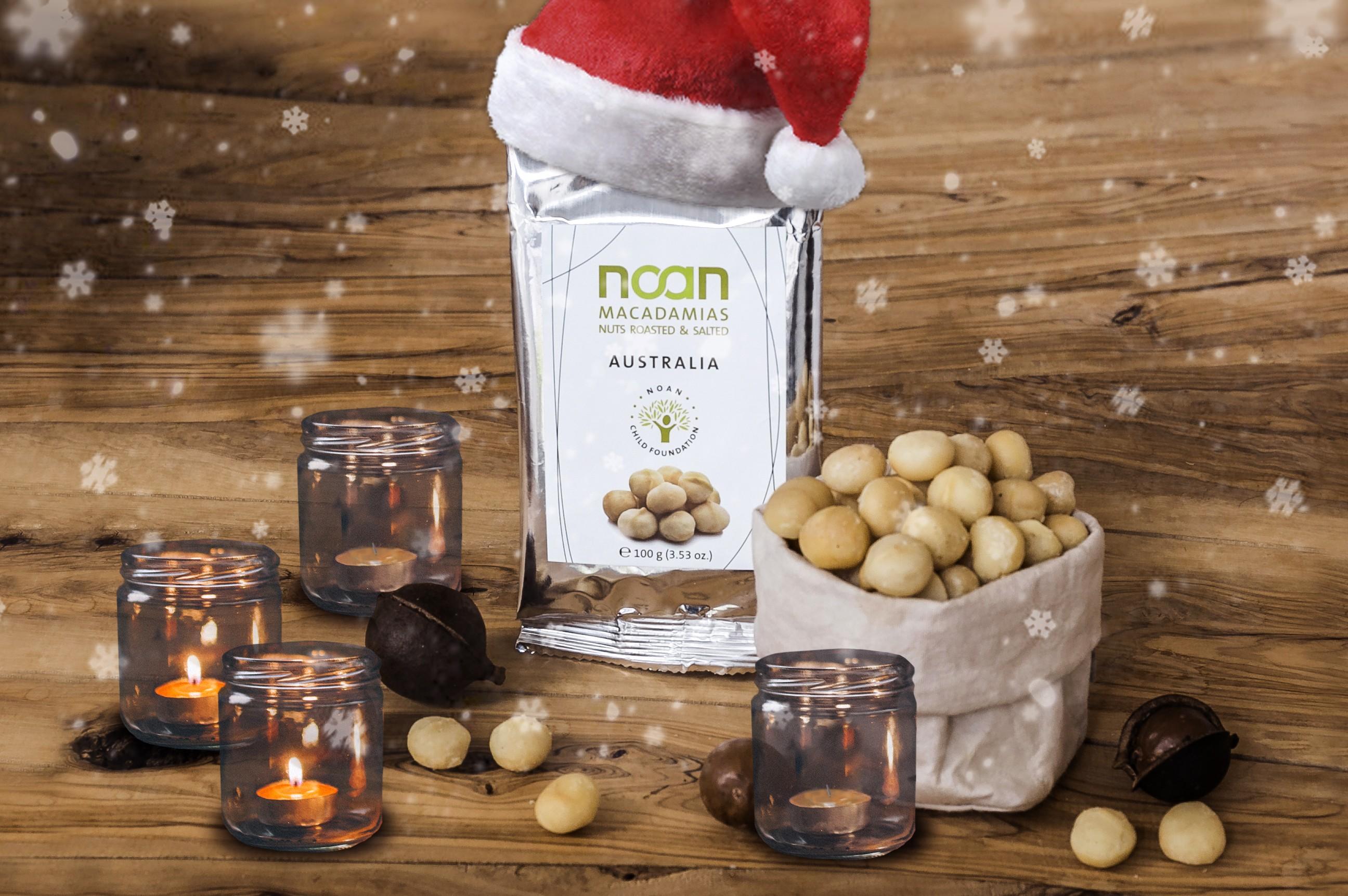 Adventsgewinnspiel Nr. 2: Knackige Macadamias von NOAN