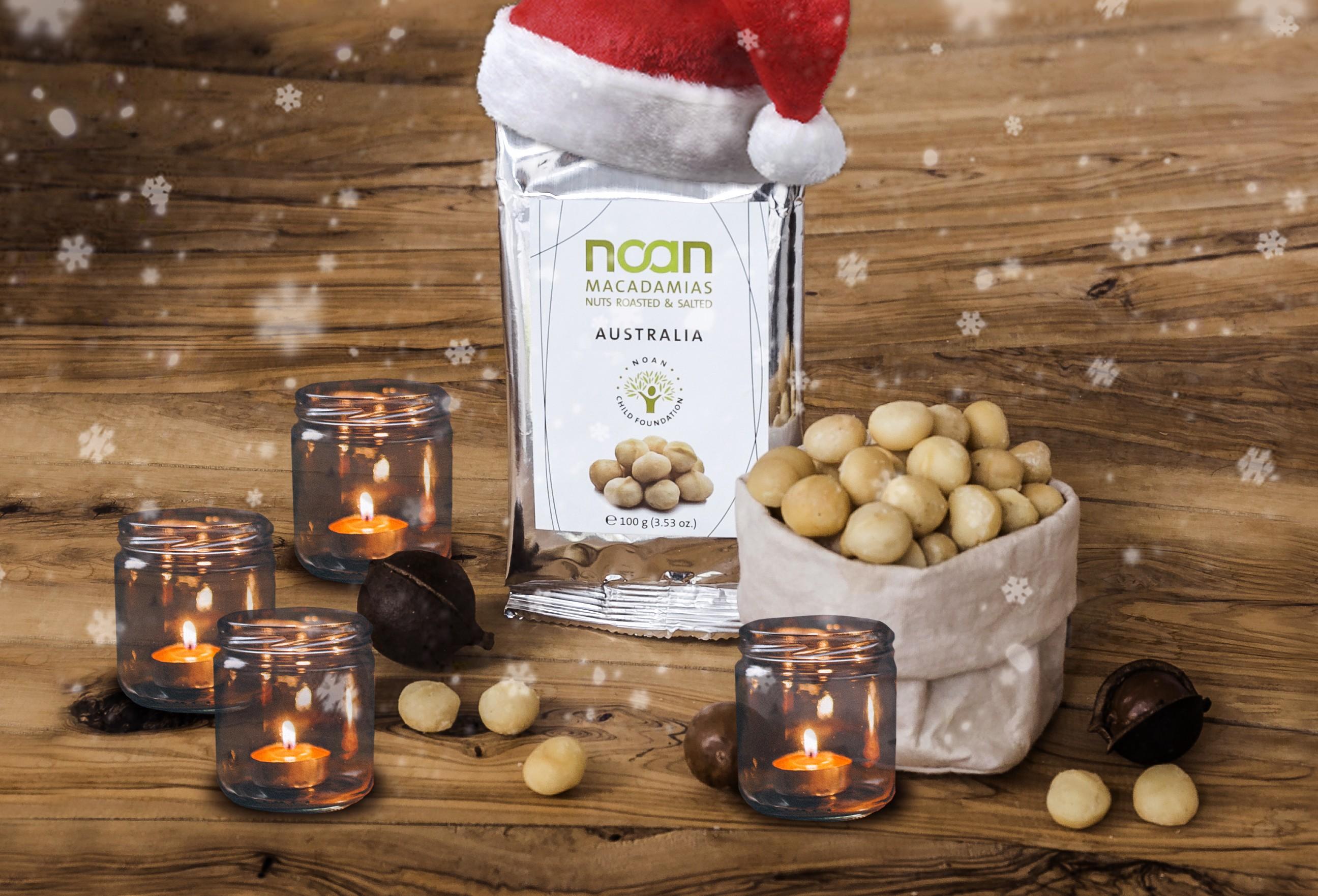 Adventsgewinnspiel Nr. 4: Knackige Macadamias von NOAN