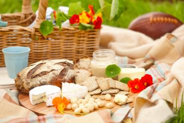 Macadamias am Tag des Picknicks