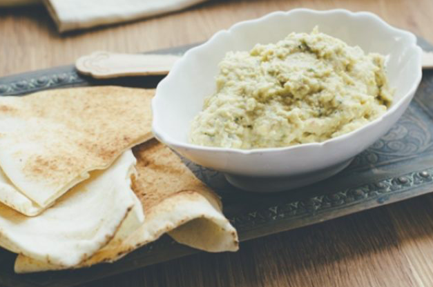 Macadamia-Hummus