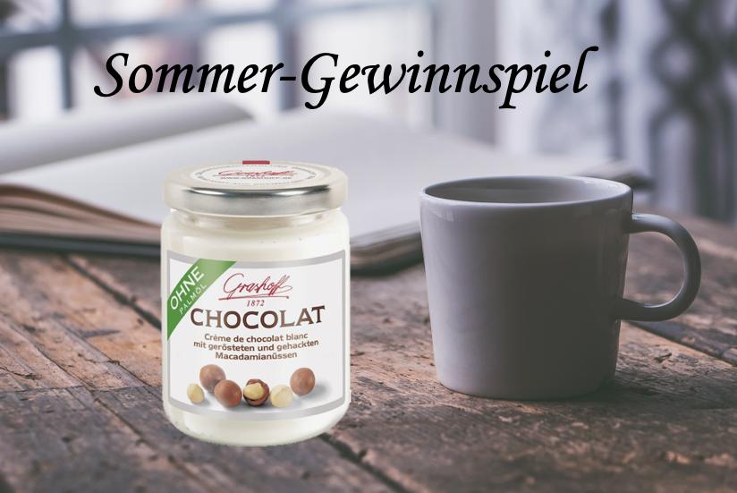 Produkttest: Weiße Schokoladencreme mit gerösteten Macadamias von Grashoff