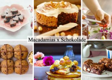 Die 6 besten Macadamia-Rezepte mit Schokolade
