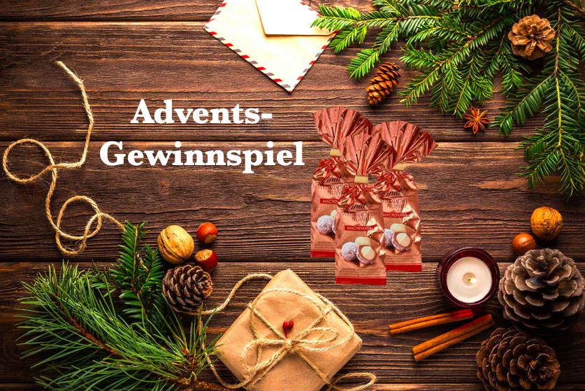 Advents-Gewinnspiel: Weihnachtsmacadamias von Lindt