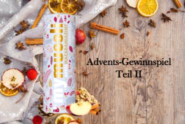 Adventsgewinnspiel II: Weihnachtliches Macadamia-Granola von mymuesli