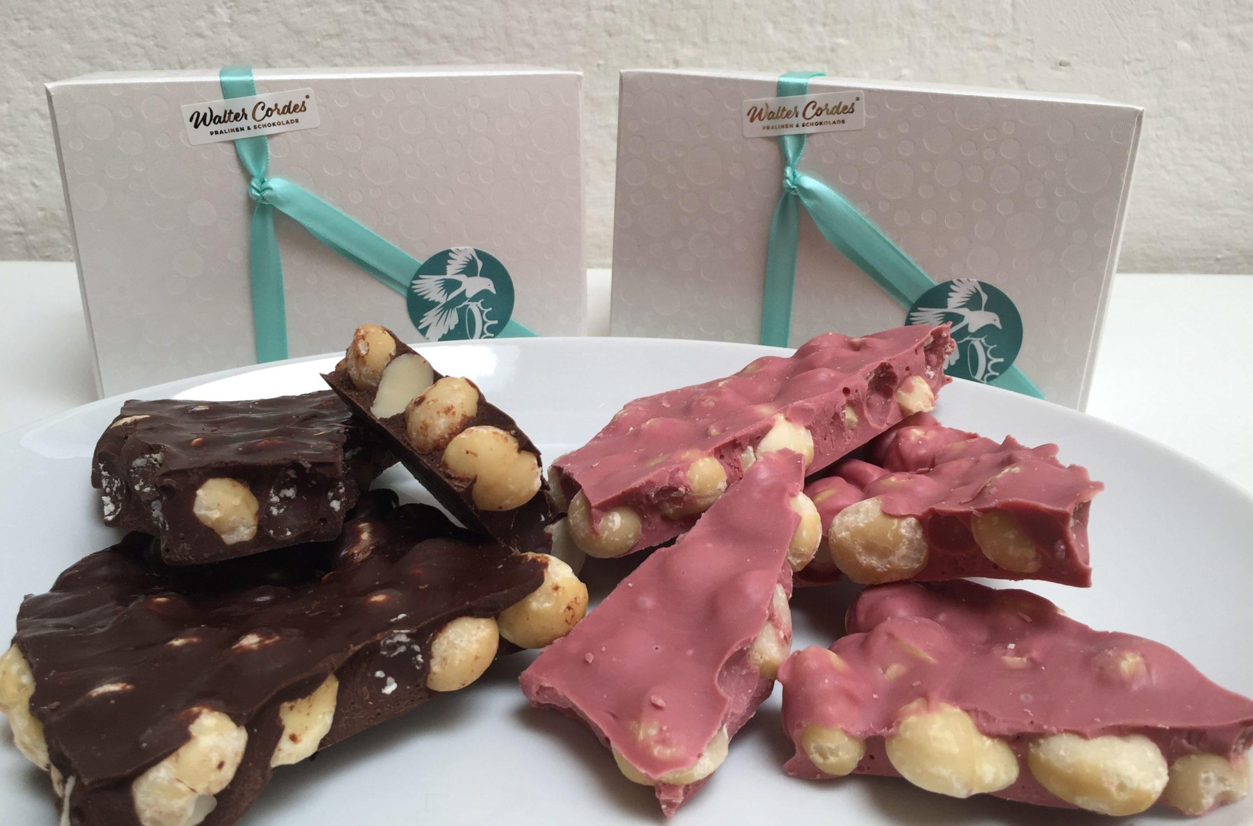 Gewinnspiel: Handgemachte Macadamia-Schokolade Deluxe